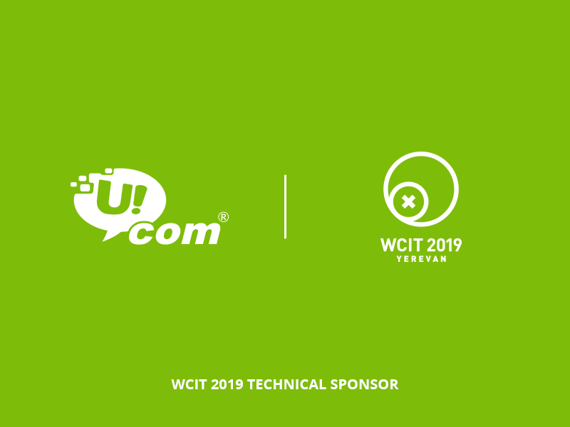 Ucom is the Technical Sponsor of WCIT 2019, the World IT Congress to Be Held in Armenia