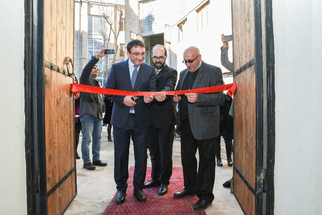 Converse Bank. The opening ceremony of the small stage - Black Box - took place at G. Sundukyan National Academic Theatre