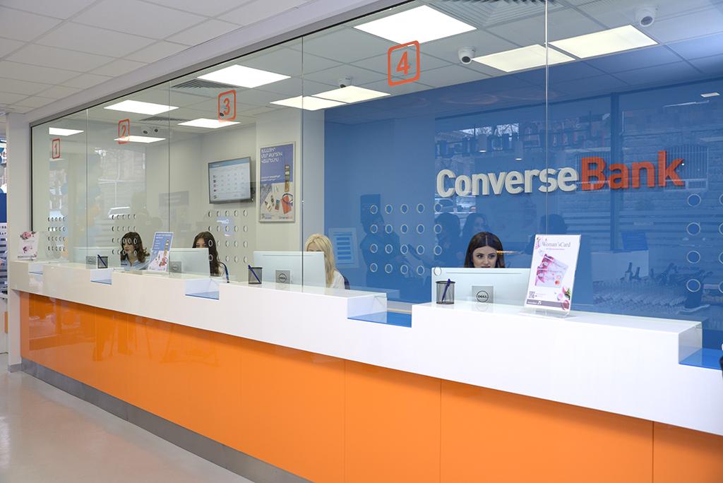 """Converse Bank: opening of """"Yeritasardakan"""" branch"""