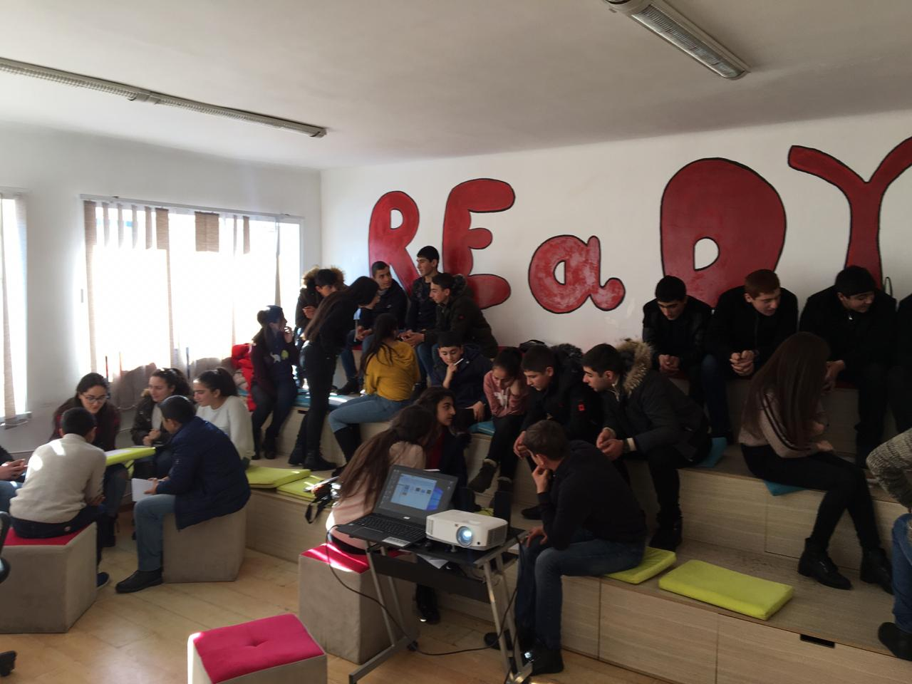 With the support of Beeline Armenia, the Startup Club initiative was also launched in Gavar