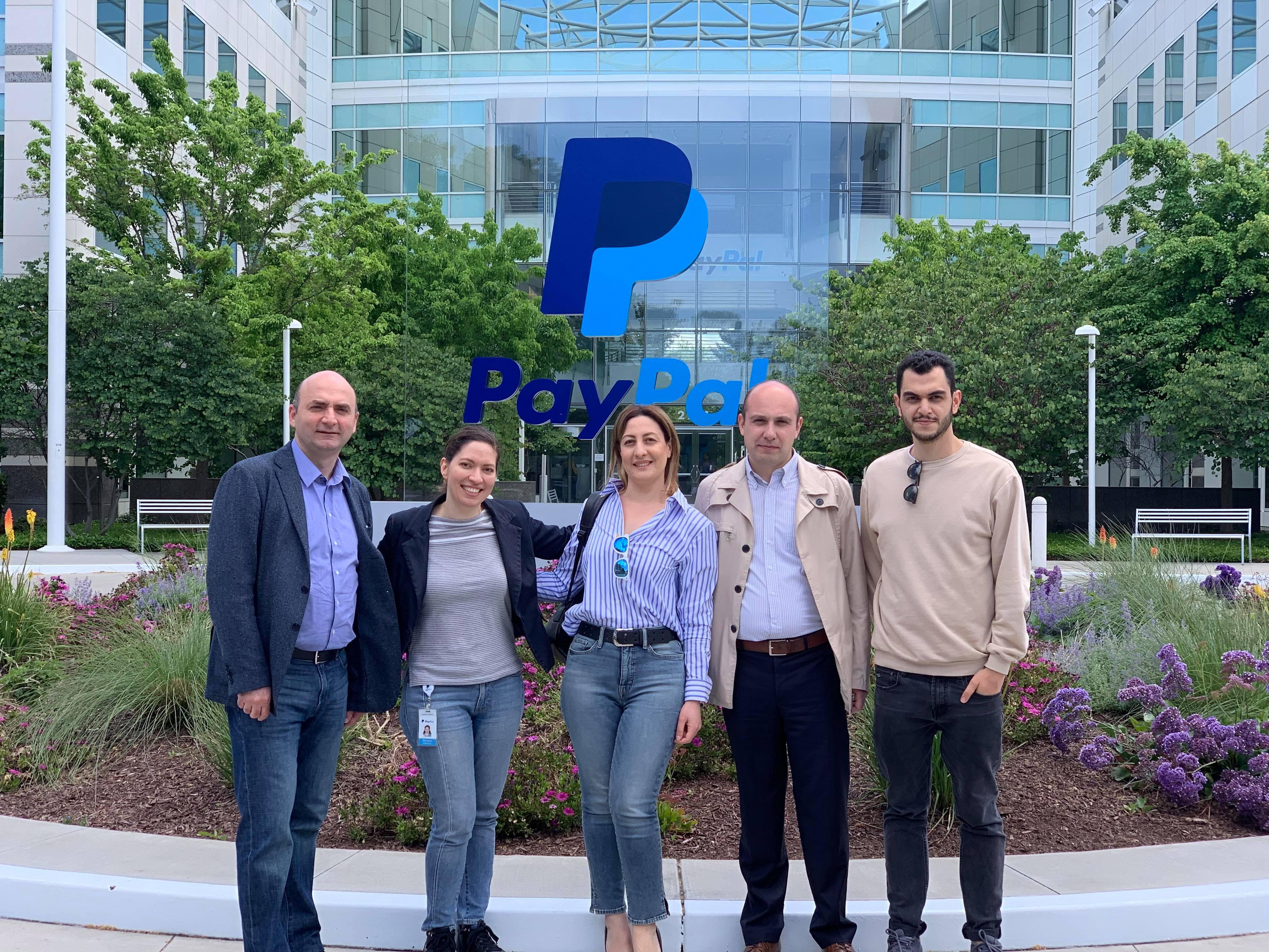 The delegation of Enterprise Incubator Foundation visited San Francisco
