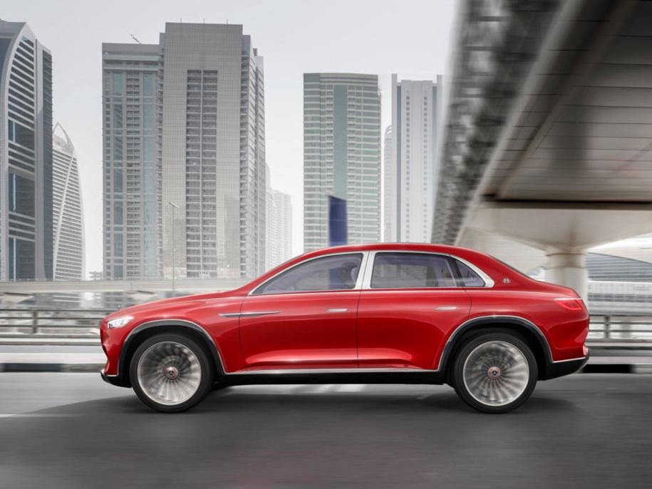 Գաղտնազերծվել է Mercedes-Maybach շքեղագույն ամենագնացի արտաքինը