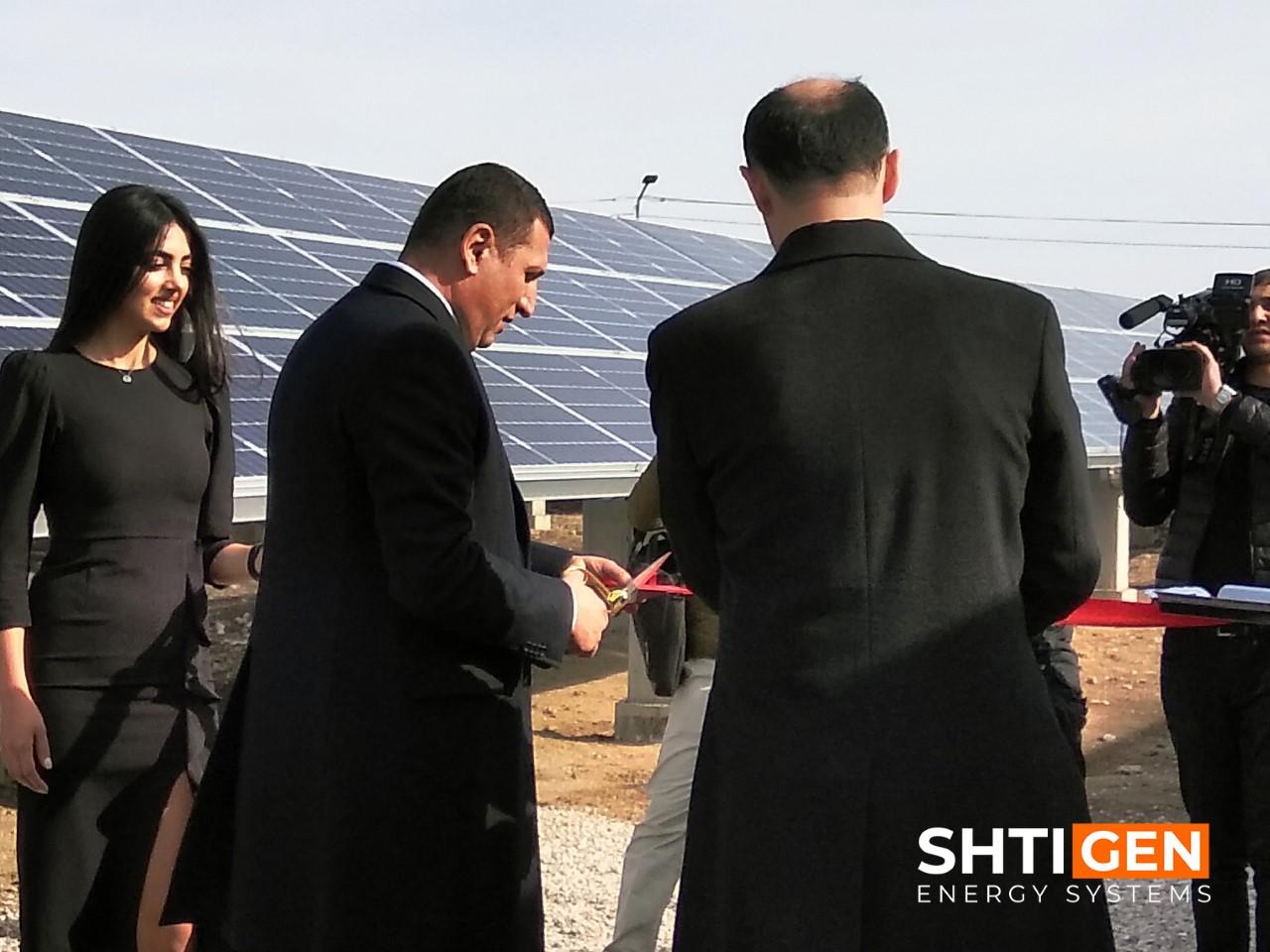 Գործարկվեց Հայաստանի խոշորագույն արևային էլեկտրակայանը