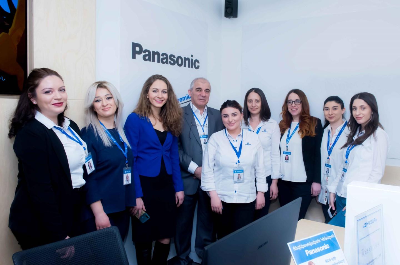 Panasonic PASS-Premium կարգավիճակի շնորհումը «Զիգզագ» սպասարկման կենտրոնին