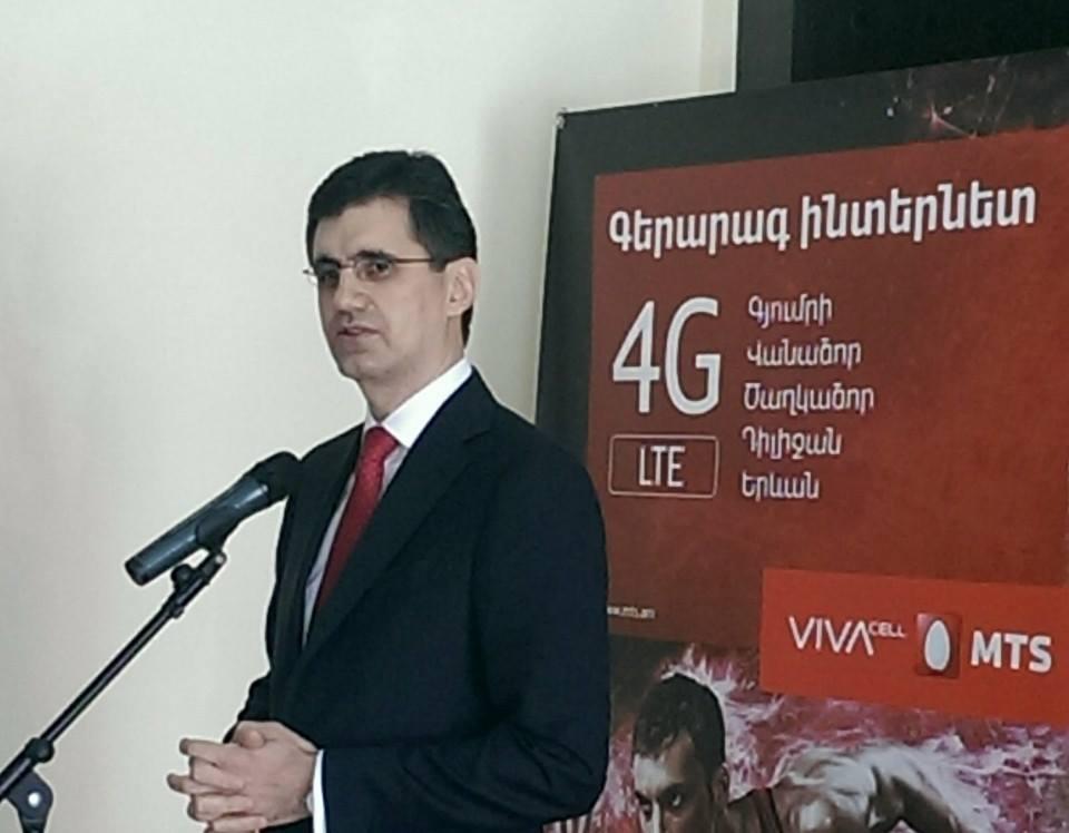 ՎիվաՍել-ՄՏՍ-ի 4G/LTE ցանցն առաջին անգամ հասանելի է դառնում Գյումրիում, Վանաձորում, Դիլիջանում, Ծաղկաձորում և Երևանի տարածքի մեծ մասում