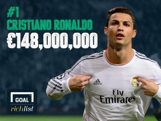 Աշխարհի ամենաշատ վարձատրվող ֆուտբոլիստները