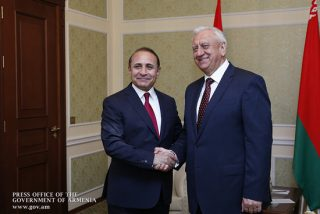 Հանդիպել են ՀՀ և Բելառուսի վարչապետները