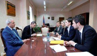 Սերգո Կարապետյանն ընդունել է գերմանական KfW բանկի ներկայացուցիչներին
