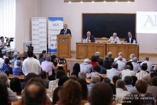 Վարչապետի մասնակցել է Հայկական տնտեսագիտական միության տարեկան գիտաժողովին