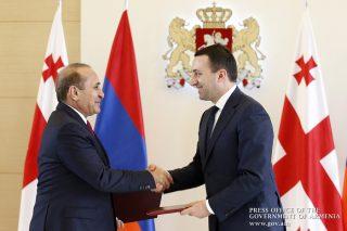 Հայաստանի և Վրաստանի վարչապետները նախաստորագրել են «Բարեկամության» կամուրջի կառուցման համաձայնագիրը