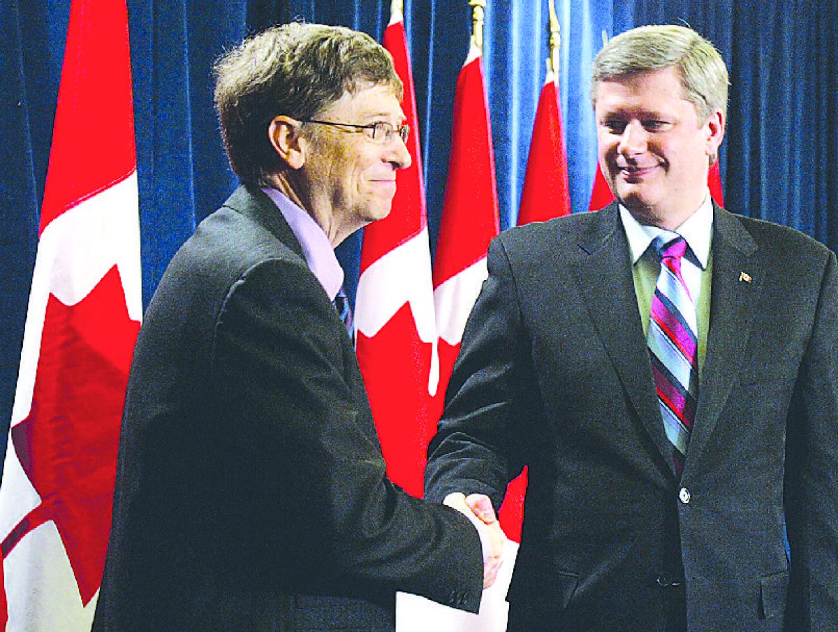 Կանադայի կառավարությունը և Բիլ Գեյթսը 42 մլն դոլար կհատկացնեն Աֆրիկայի երեխաների պատվաստման համար