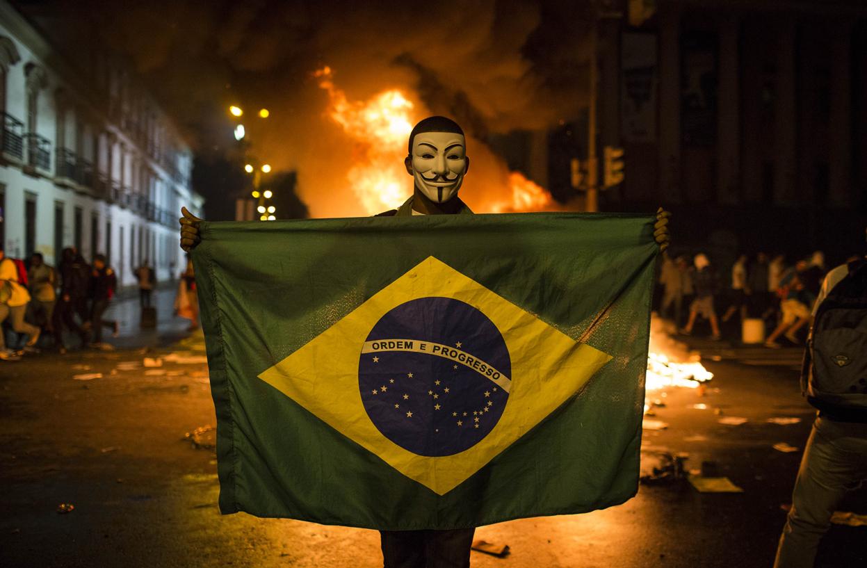 Բրազիլիայում ցուցարարները պահանջում են նախագահի հրաժարականը