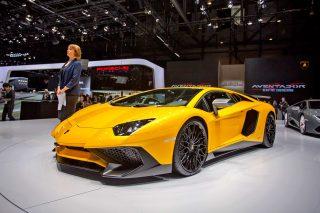 Ցուցադրվել է նոր Lamborghini Aventador LP 750-4 SV-ն