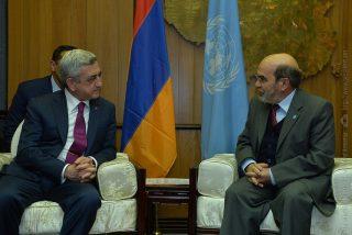 Նախագահը հանդիպում է ունեցել ՄԱԿ-ի պարենի և գյուղատնտեսության կազմակերպության գլխավոր տնօրենի հետ