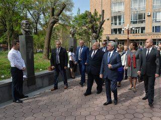 Սերժ Սարգսյանը վերընտրվել է ԵՊՀ հոգաբարձուների խորհրդի նախագահ