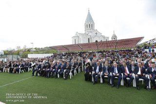 Վարչապետը մասնակցել է Շուշիում անցկացված տոնական միջոցառումներին