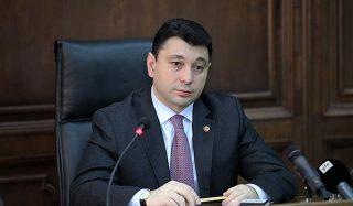 ՀՀ ԱԺ փոխնախագահ Էդուարդ Շարմազանովը պաշտոնական այցով մեկնել է Աթենք