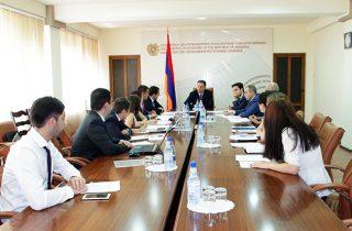 ՀՀ էկոնոմիկայի նախարարությունում կայացել է «Հայաստանի արտահանման ապահովագրական գործակալություն» ԱՓԲԸ-ի խորհրդի հերթական նիստը