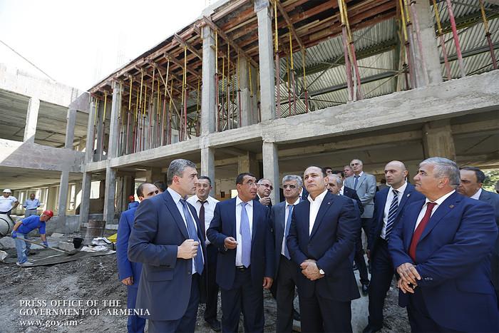 Վարչապետը ծանոթացել է Գեղարքունիքի և Լոռու մարզերում իրականացվող մի շարք ենթակառուցվածքային ծրագրերի ընթացքին