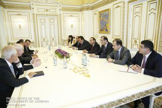 Վարչապետն ընդունել է Ազգային օլիմպիական կոմիտեների ասոցիացիայի և Եվրոպայի օլիմպիական կոմիտեի նախագահներին