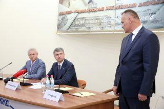 «Ռուսական երկաթուղիներ» ԲԲԸ նախագահը ՀԿԵ անձնակազմին է ներկայացրել նոր գլխավոր տնօրենին