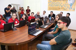 Ucom. Վանաձորում բացվեց նոր Վիքի ակումբ