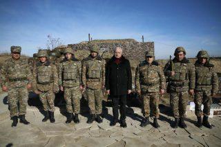 Սերգո Կարապետյանն այցելել է առաջնագիծ