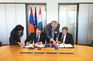 ՀՀ և Լյուքսեմբուրգի Մեծ Դքսության միջև ստորագրվել է Օդային հաղորդակցությունների մասին միջկառավարական համաձայնագիր