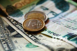 Մեկ տարում ԱՄՆ դոլարի նկատմամբ ՀՀ դրամի միջին հաշվարկային փոխարժեքն աճել է 14.2%-ով