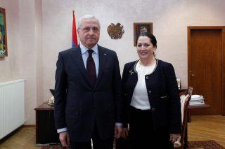 Սերգո Կարապետյանն ընդունել է Գյուղատնտեսության զարգացման միջազգային հիմնադրամի պատվիրակությանը