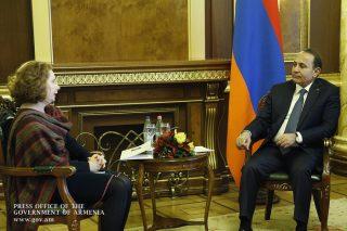 Հովիկ Աբրահամյանն ընդունել է ՀՀ-ում Եվրոպայի խորհրդի գրասենյակի ղեկավարին