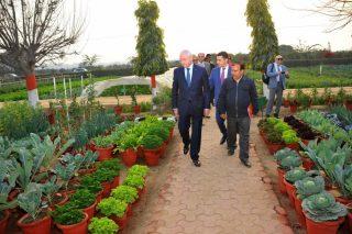 Սերգո Կարապետյանն այցելել է Հնդկաստանի գյուղատնտեսության հետազոտությունների ինստիտուտ