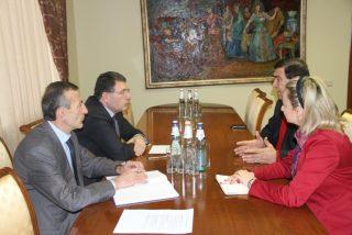 Արամ Հարությունյանը աշխատանքային հանդիպում է ունեցել գերմանական KfW բանկի ներկայացուցիչների հետ