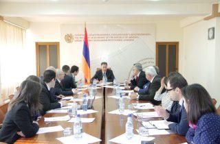 Կարեն Ճշմարիտյանի նախագահությամբ կայացել է «Հայաստանի արտահանման ապահովագրական գործակալություն» ԱՓԲԸ-ի խորհրդի հերթական նիստը