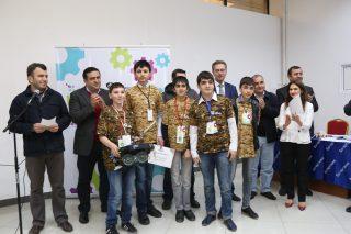 Յուքոմ․ հայտնի են «Ական փնտրող ռոբոտներ» մրցույթի հաղթողների անունները