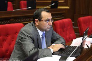 Արծվիկ Մինասյան․ Հայաստանի տնտեսական զարգացմանը սպառնացող թուրքական ապրանքների մասով ուսումնասիրություններ են կատարվում