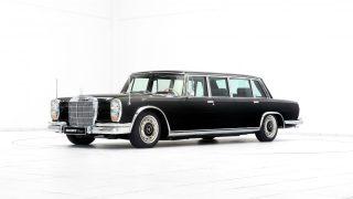 Brabus-ը 7 դասական Mercedes-Benz է վերականագնել