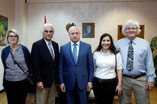 Սերգո Կարապետյանն ընդունել է «Հայկական տեխնոլոգիական խումբ» հիմնադրամի պատվիրակությանը