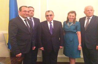 Արծվիկ Մինասյանը հանդիպել է Ուկրաինայի առաջին փոխվարչապետ, տնտեսական զարգացման և առևտրի նախարարի հետ