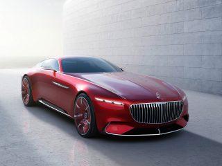 Ներկայացվել է Vision Mercedes-Maybach 6 լյուքս դասի կուպեն