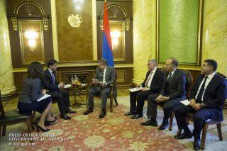 Կարեն Կարապետյանն ընդունել է Հայաստանում ՄԱԿ-ի մշտական համակարգողին