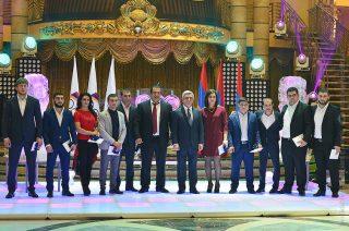 Նախագահ Սերժ Սարգսյանը շնորհավորել է Հանրապետության մարզաշխարհի ներկայացուցիչներին