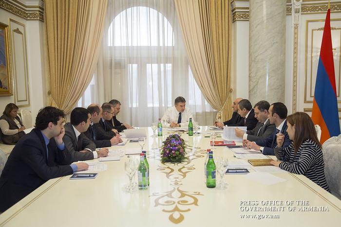 Կարեն Կարապետյանի մոտ քննարկվել են Գեղարքունիքի մարզից ստացված ներդրումային ծրագրերի փաթեթները