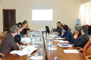 Զարմինե Զեյթունցյանը հանդիպել է միջազգային դոնոր կազմակերպությունների ներկայացուցիչների հետ