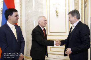 Կարեն Կարապետյանն ընդունել է ՀՀ-ում ԵՄ պատվիրակության ղեկավար, դեսպան Պյոտր Սվիտալսկիին