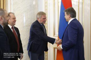 Վարչապետ Կարապետյանն ընդունել է Եվգենի Կասպերսկիին