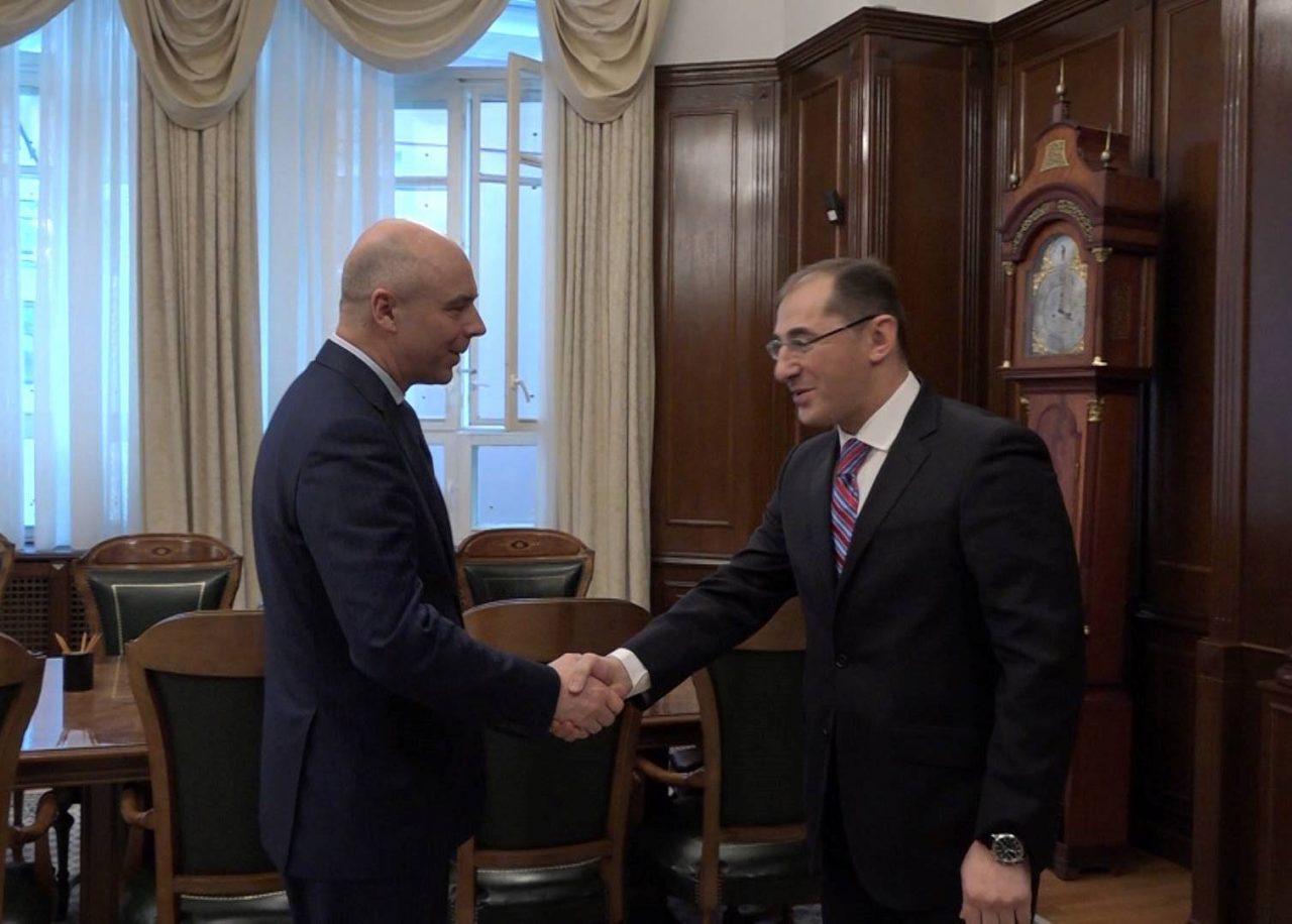 Վարդան Արամյանը Մոսկվայում հանդիպել է ռուս գործընկերոջը