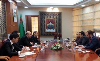Քննարկվում են Թուրքմենստանի հետ էներգակիրների առևտրի հնարավորությունները