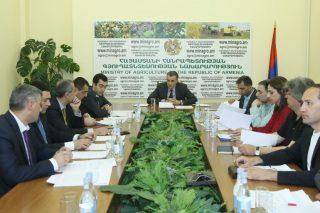 Կայացել է Հայաստանի խաղողագործության և գինեգործության հիմնադրամի խորհրդի հերթական նիստը