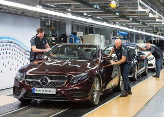 Mercedes-Benz. մեկնարկել է E-Class կաբրիոլետի արտադրությունը